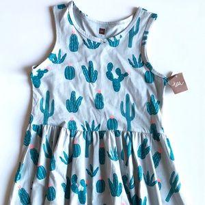 🆕 TEA COLLECTION Skirted Cotton Tank Dress